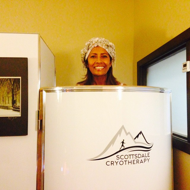 cryotherapy-patient